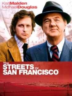 las calles de san francisco - tv  de los 70´s lámina 45x30cm