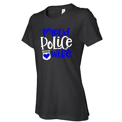 Las Camisetas Negras De Las Mujeres Orgullosas De La Esposa