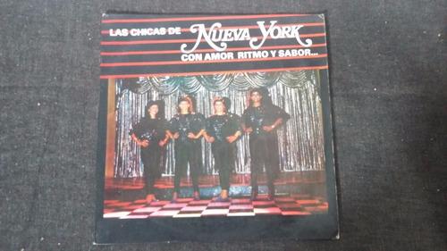 las chicas de new york lp vinilo merengue