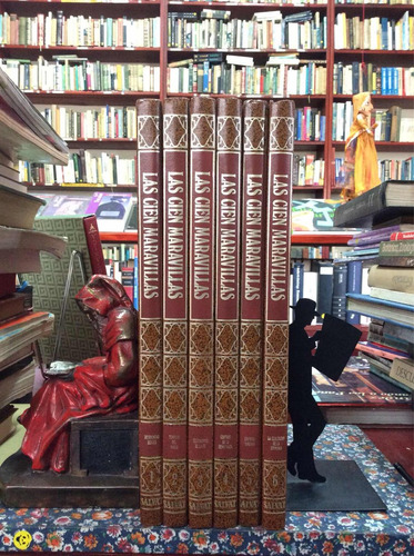 las cien maravillas enciclopedia salvat arquitectura 6 tomos