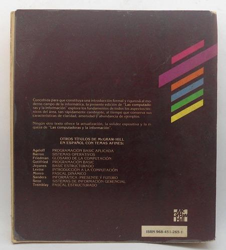 las computadoras y la información / lawrence s. orilia