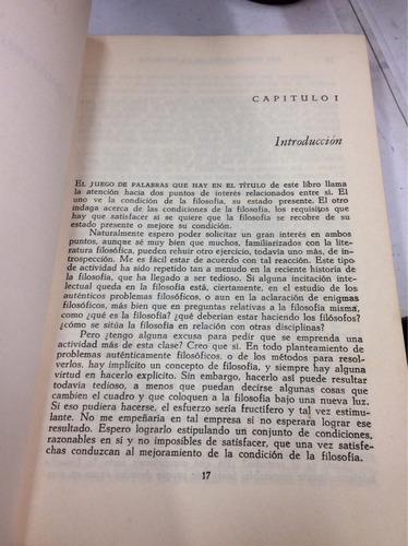 las condiciones de la filosofia - mortimer j. adler - letras