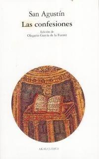 las confesiones, san agustín, ed. akal
