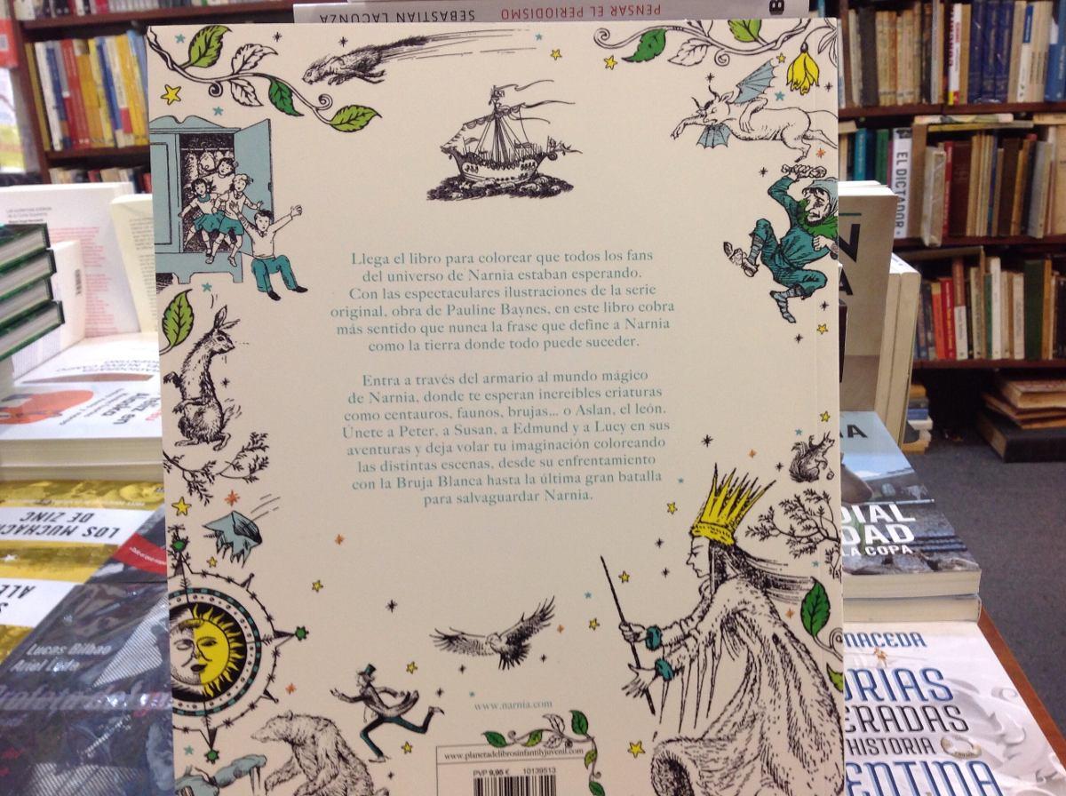 Las Cronica De Narnia Colouring Book - $ 400,00 en Mercado Libre