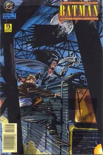 las cronicas de batman / dc comics / editorial zinco