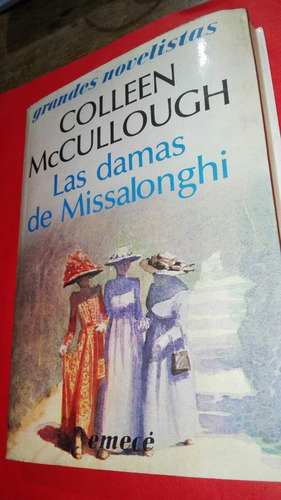 las damas de missalonghi colleen mccullough