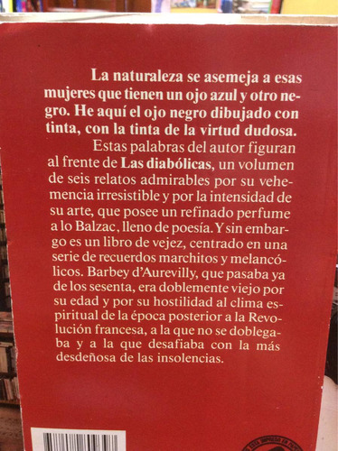 las diabólicas - jules barbey d'aurevilly - oveja negra
