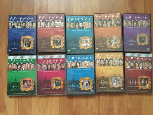 las diez temporadas de friends