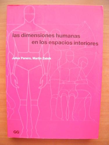 las dimensiones humanas en los espacios interiores, j panero