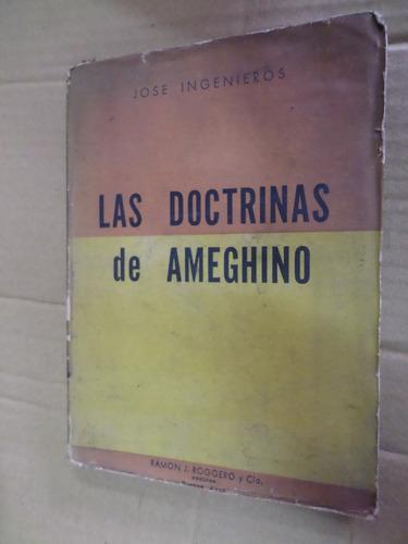 las doctrinas de ameghino , josé ingenieros