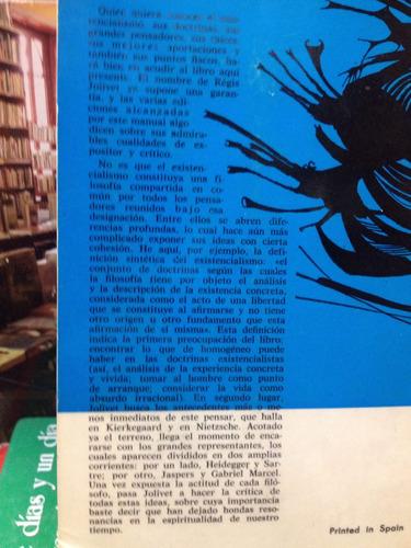 las doctrinas existencialistas - regis jolivet - ed. gredos