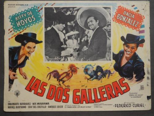 las dos galleras dagoberto rodriguez cartel de cine