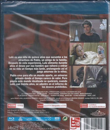 las edades de lulú blu-ray importado cine español bigas luna
