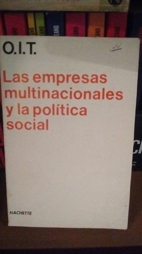 las empresas multinacionales y la política social