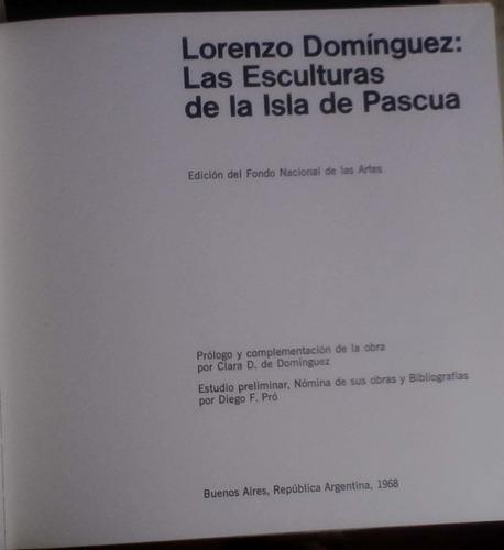 las esculturas de la isla de pascua - lorenzo dominguez - fo