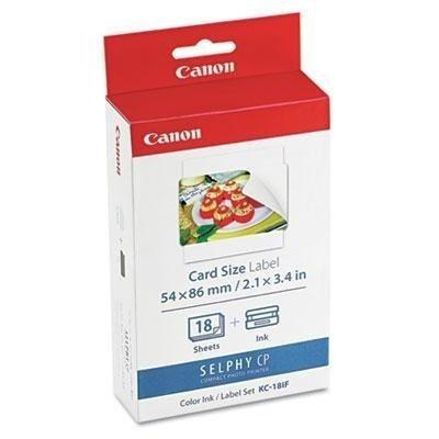 las etiquetas de tamaño completo de la tarjeta canon 7741a00