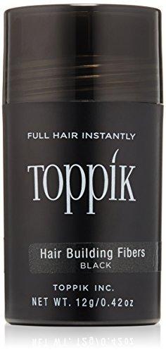 las fibras de toppik cabello edificio negro, 0.42 oz.