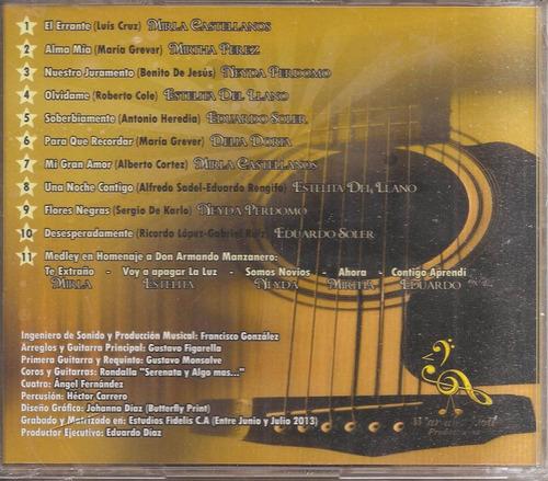 las grandes de venezuela - cd nuevo un tesoro músical