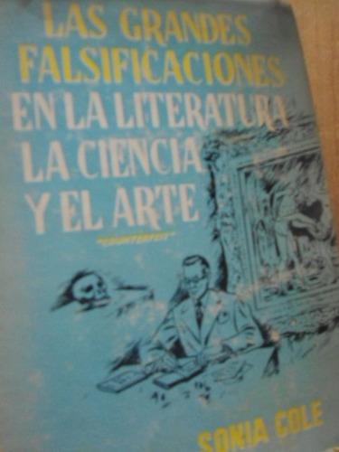 las grandes falsificaciones en la literatura, la ciencia y