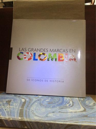 las grandes marcas en colombia, 50 iconos de historia
