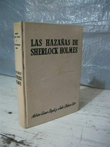 las hazañas de sherlock holmes adrian conan doyle 1955