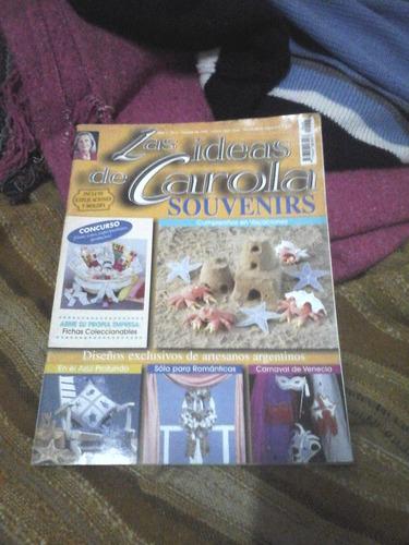 las ideas de carola souvenirs   año 1   n°5   01/1999