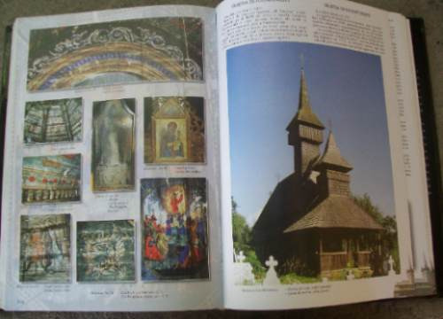 las iglesias de madera de maramures unico - ilustrado