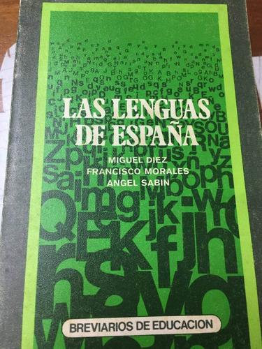 las lenguas de españa. diez, morales y sabin