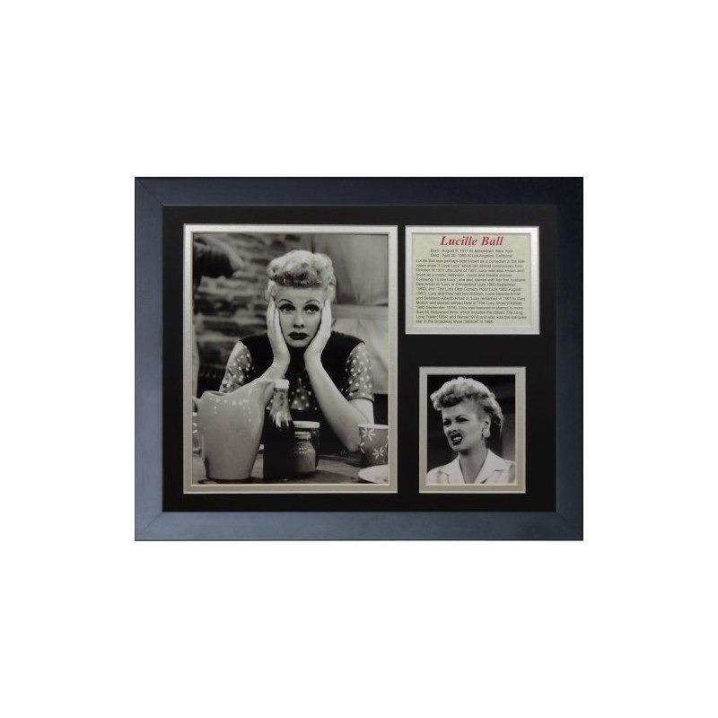 Las Leyendas Nunca Mueren I Love Lucy Portrait Collage De Fo ...