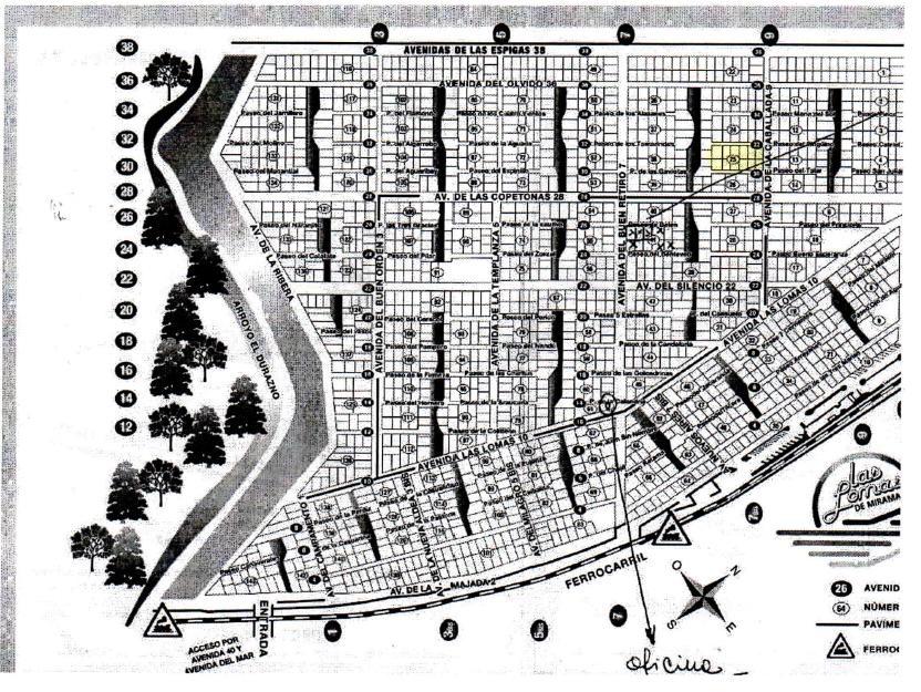 las lomas de miramar 100 -  - terrenos/fracciones/loteos terrenos - venta