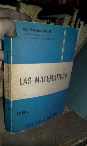 las matemáticas del bachillerato elemental sales