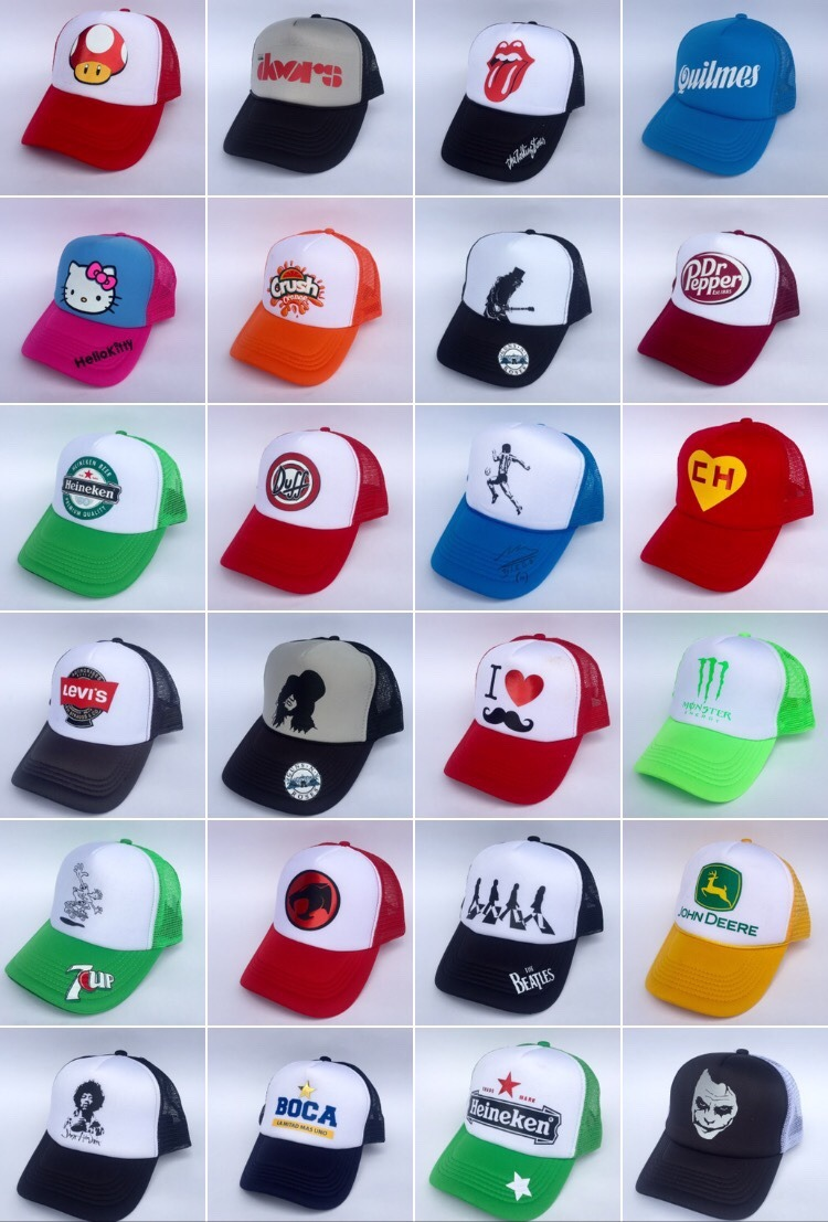 las mejores gorras trucker diseños unicos! envios todo pais. Cargando zoom. d2997997bca