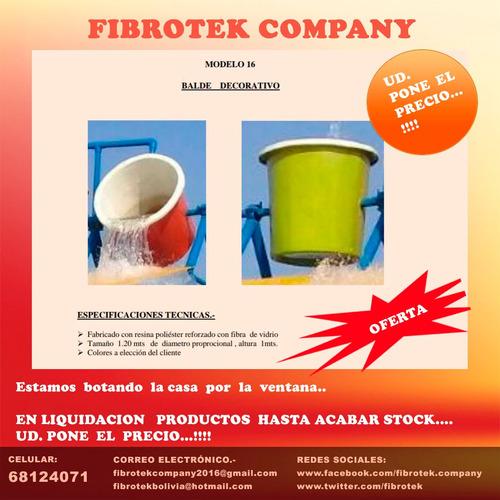 las mejores ofertas en productos fabricados en fibra de vidr