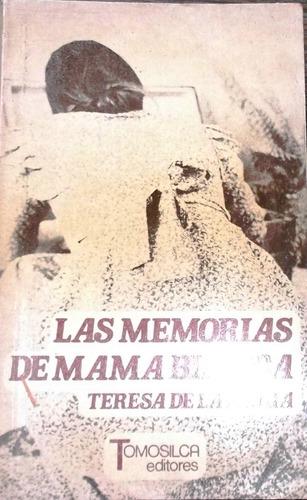 las memorias de mama blanca  teresa de la parra ,