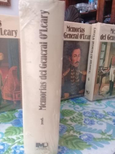 las memorias del general daniel florencio o'leary
