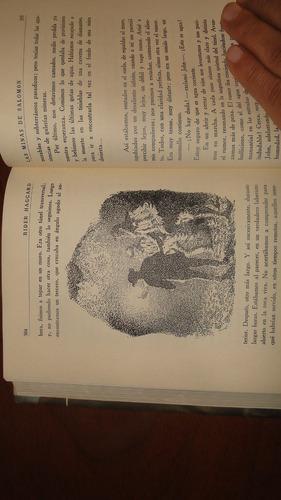 las minas de salomon . rider haggard, h. - 1952