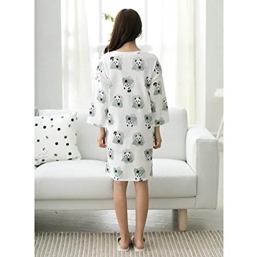 las muchachas de la falda del sueño del algodón puro del ver