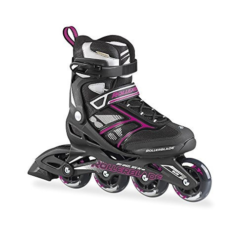 las mujeres de los patines patín zetrablade 80, negro / roj