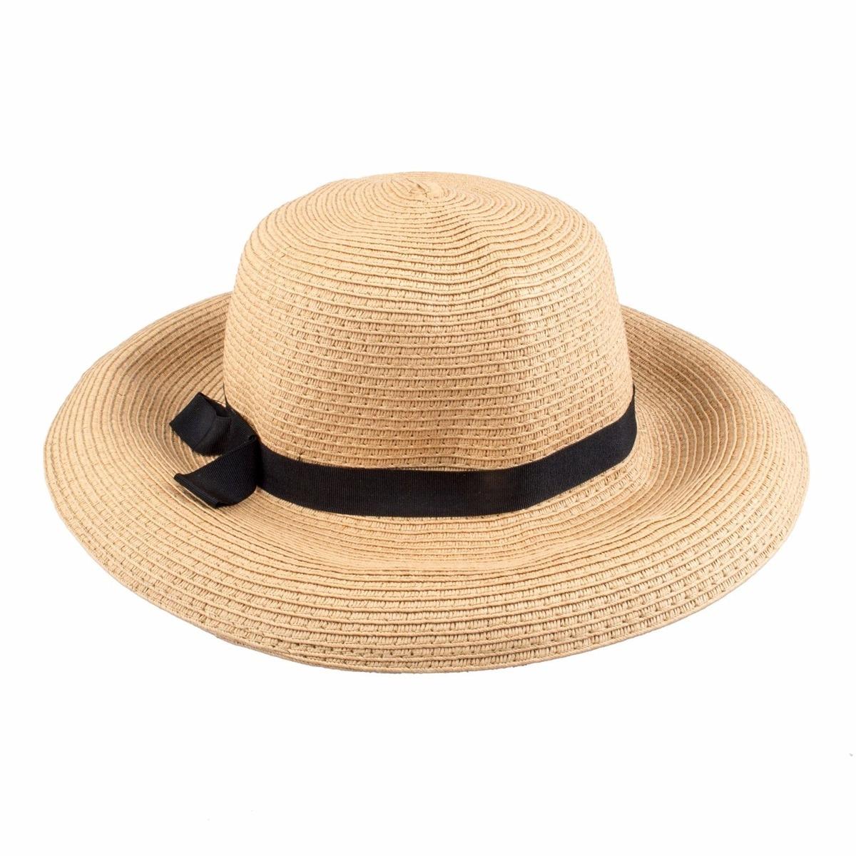 67e08f155542c las mujeres sombrero plegable ancho ala paja... (khaki). Cargando zoom.