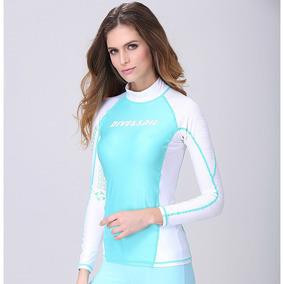 2a2450c80c1f Las Mujeres Trajes De Baño, Tops Snorkel Camisetas De Surf