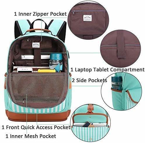las niñas adolescentes, mochilas set con almuerzo bolsa de a