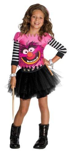 las niñas disfraces de animales muppets - grande