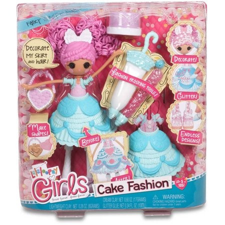 las niñas lalaloopsy torta helada lujo n ' muñeca de la m