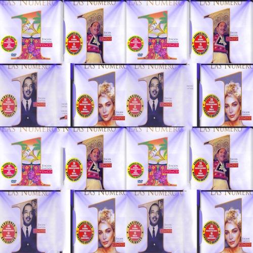 las numero 1 cd+dvd