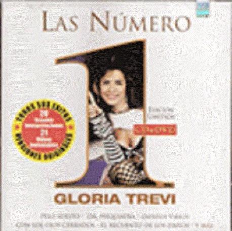 las número 1 (cd + dvd) gloria trevi