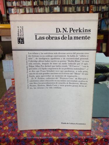 las obras de la mente. d n perkins. filosofía.