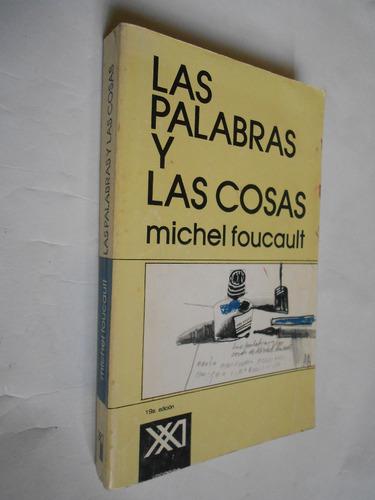 las palabras y las cosas, foucault, libro usado filosofía