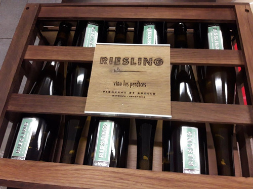 las perdices reserva riesling vino blanco caja x6 unidades