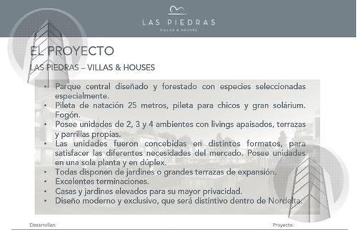 las piedras- castaños nordelta-ultimas unidades etapa ii - entrega 09/2018