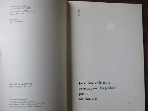 las piedras del cielo pablo neruda primera edición 1970